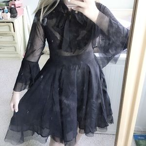 Killstar sheer dress